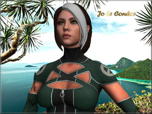 Dans les îles en 3d....