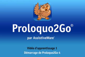 Prologo2Go : Vidéo tutorielle d'Assistiveware en français