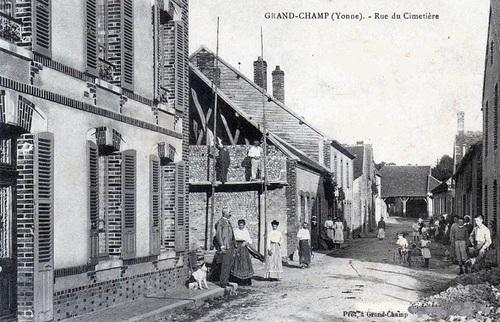 Famille Sarre, Grandchamp, Fontenoy, Toucy (89)