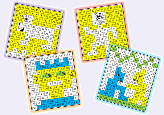 La multiplication par le jeu le stylo de vero for Jeu des multiplications