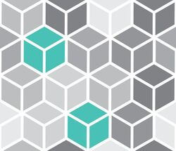 Cube eb escalier