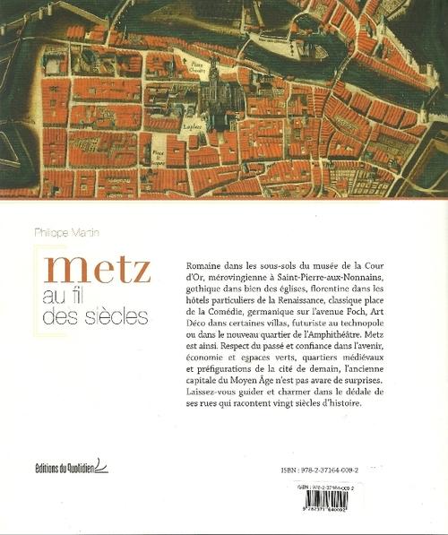 Deux livres sur Metz.