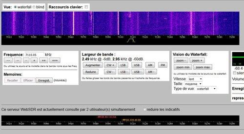 un nouveau récepteur WebSDR à Nangis (77) sur 7Mhz par F8KGO