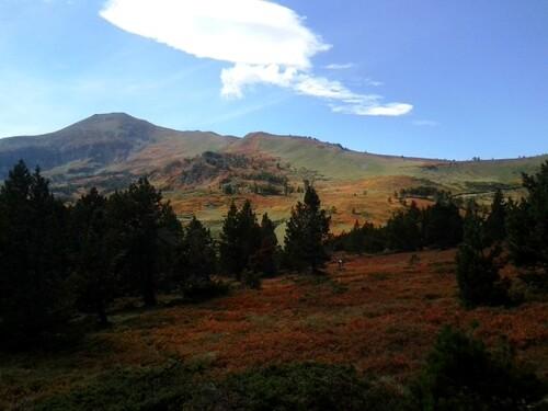 L'automne du col de Pailhères