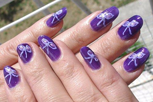 nail art noeuds +liners 010