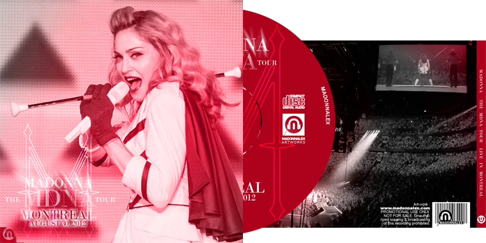 The MDNA Tour - Live in Montreal Audio