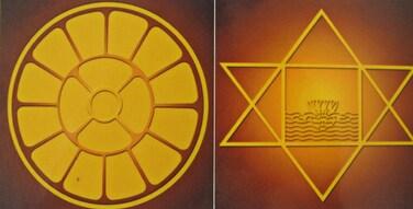 Symboles de Mère et Shrî Aurobindo