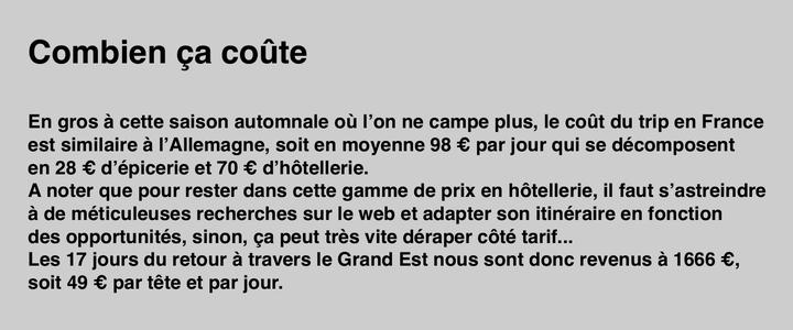 _ 2018 - Vélo Tour Nordique / 11 :  Sweet home