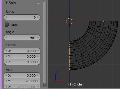 La copie circulaire (Alt + R em Edit Mode)