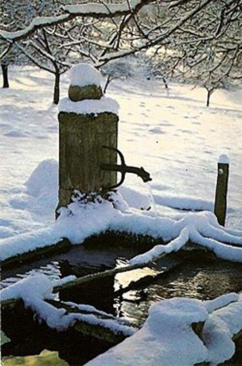 Défi n° 262 : une fontaine