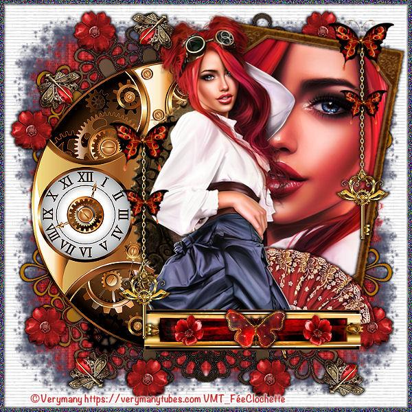 Red steampunk