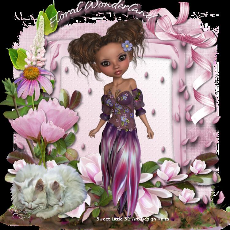 *** Aurelie Floral Wonderland ***