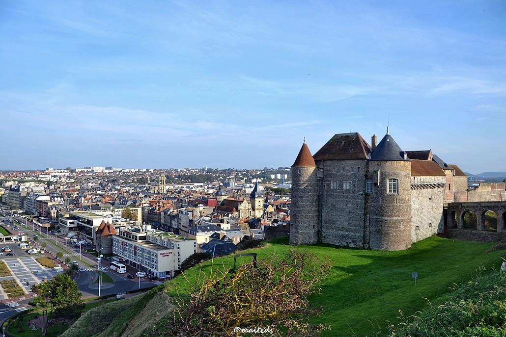 Dieppe et son château - Seine-Maritime (2)