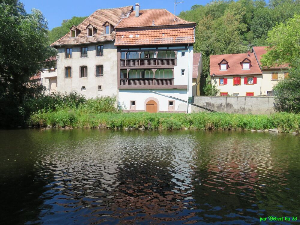 Thann  dans le sud de l'Alsace