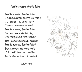 Feuille rousse, feuille folle