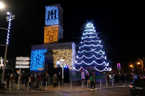 Lumières de fêtes