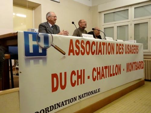 L'assemblée Générale de l'Association des Usagers du CHI Châtilon sur Seine-Montbard a eu lieu vendredi 22 novembre 2013