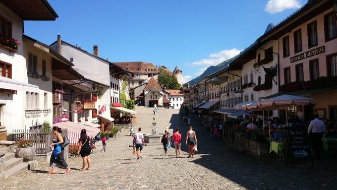 Voyage en Suisse...
