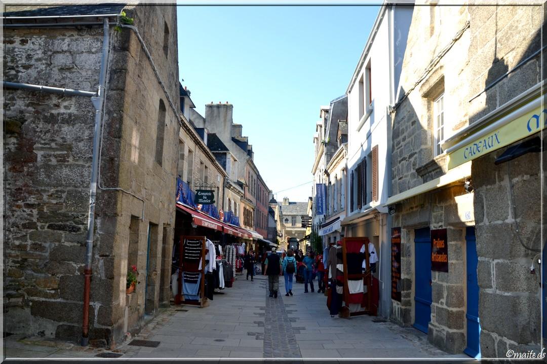 Dans les rues de Concarneau
