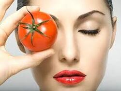 Masque à la tomate