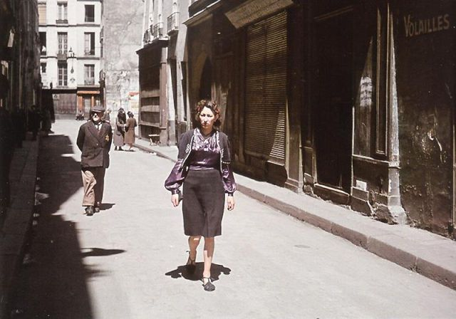 Andre Zucca: Nazi Propaganda Photos - Paris during WW236