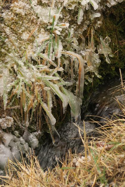 Torrent glacé