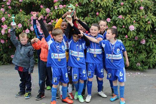 Champions, les U9