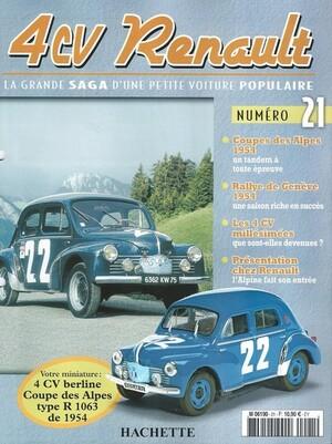 4cv Coupe des Alpes 1954