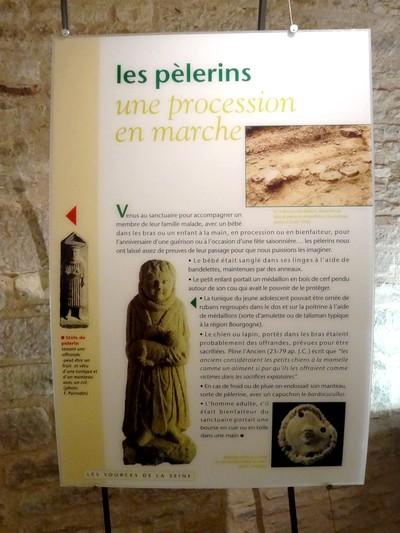 Une visite aux sources de la Seine...
