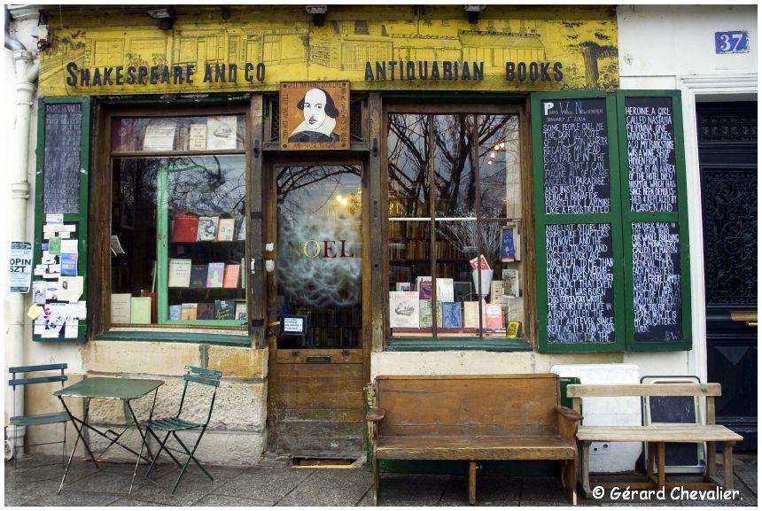 "Paris - La Librairie ""Shakespeare and Co"""