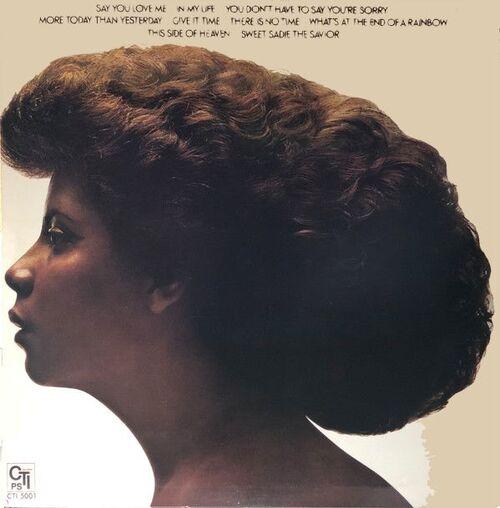 "Patti Austin : Album "" End Of A Rainbow "" CTI Records CTI 5001 [ US ] en 1976"