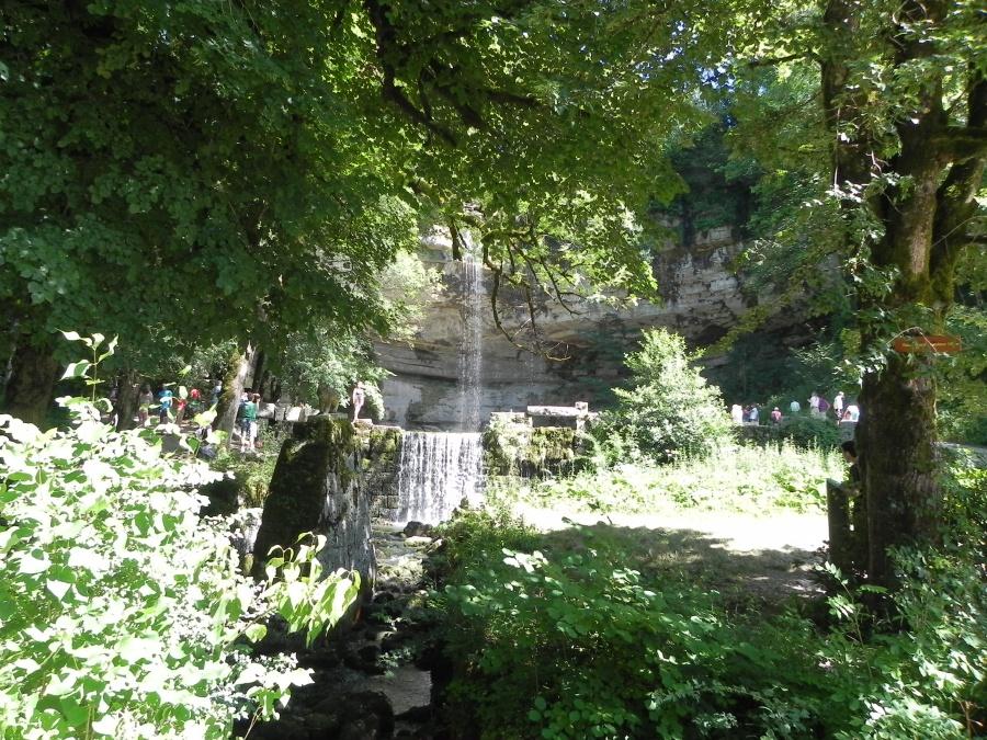 Le Saut Girard  près du village d'Ilay