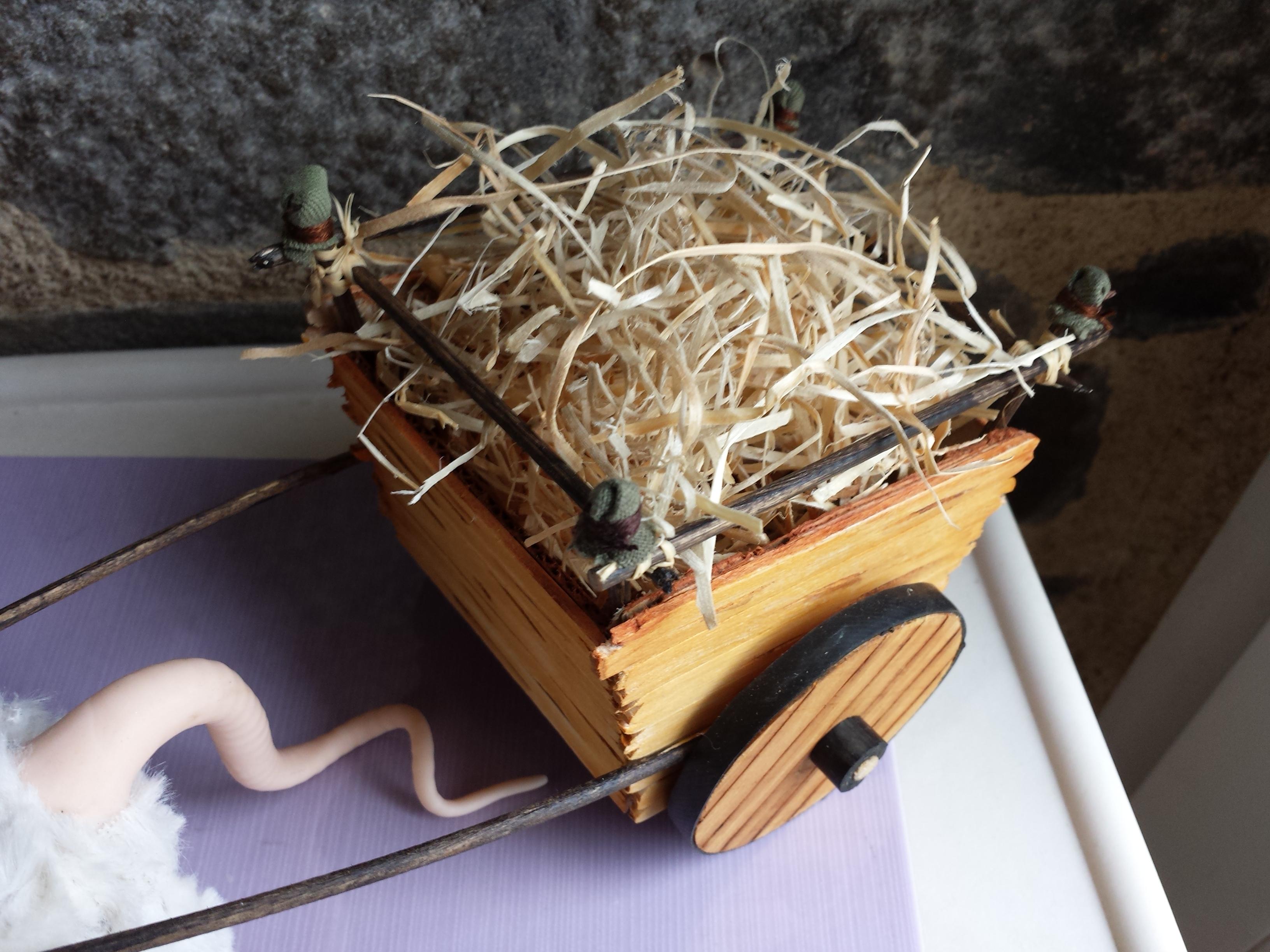 Le bousard de brucero 6 la charrette le jardin de la musaraigne - Acheter de la paille pour jardin ...