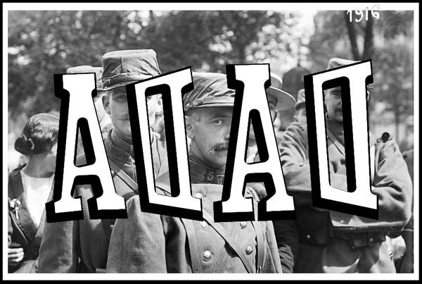 DADA Krieg 1916 Document RVG Point to Point Studio