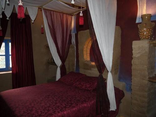 Une chambre à la gazelle bleue