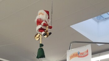 Le Père Noël aussi s'envoie en l'air !