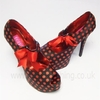 Bordello Black and Red Polka Dot Peep Toe Pump.jpg