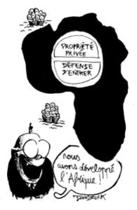Afrique propriété privée