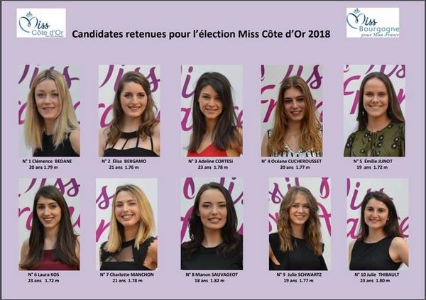 L'élection de Miss Côte d'Or c'est pour bientôt !