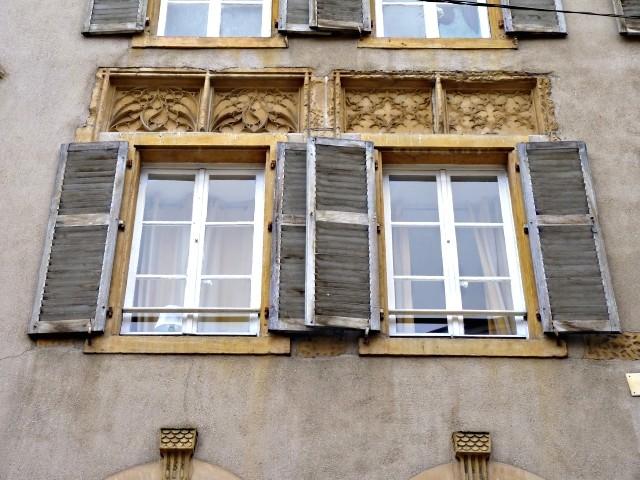 Façades de Metz l'Hôtel de Heu 5 2010