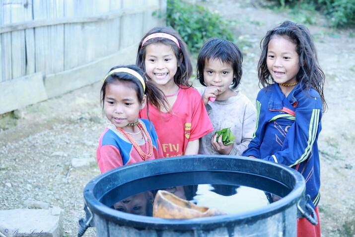 Deuxième jour de trek de Phouvieng au village de Yangpa