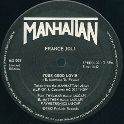 France Joli - Your Good Lovin'