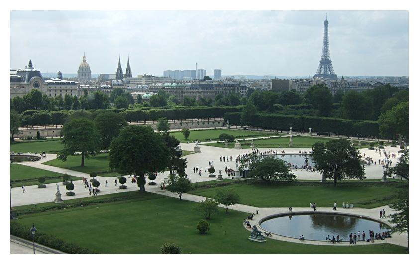 Le jardin des Tuileries - technocodes3813