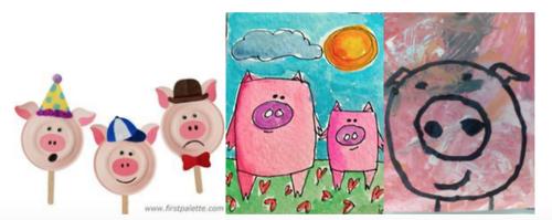 Les contes - Les trois petits cochons