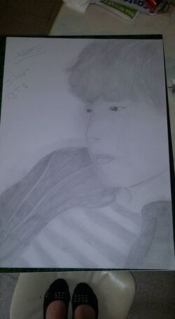 petit dessin drawing {J-hope}[BTS]