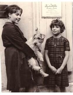Avec une petite-fille de Lucette
