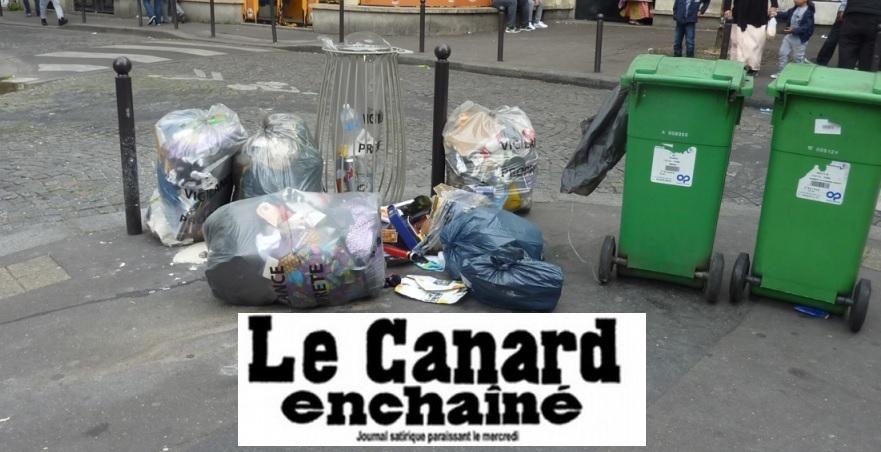 PROPRETÉ DE PARIS : Anne Hidalgo dépense 224 580 euros pour un rapport de 14 pages ! [Le Canard Enchaîné]