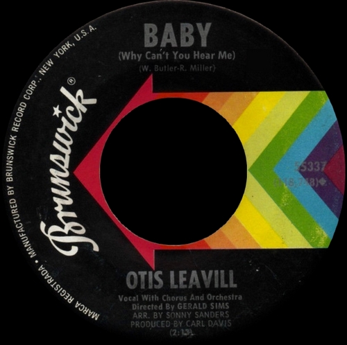 "Otis Leavill : CD "" When The Music Grooves "" SB Records DP 143 [ FR ]"