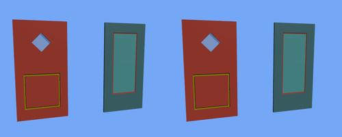 Les 2 portes en stéréos