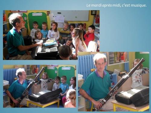 On découvre les instruments.